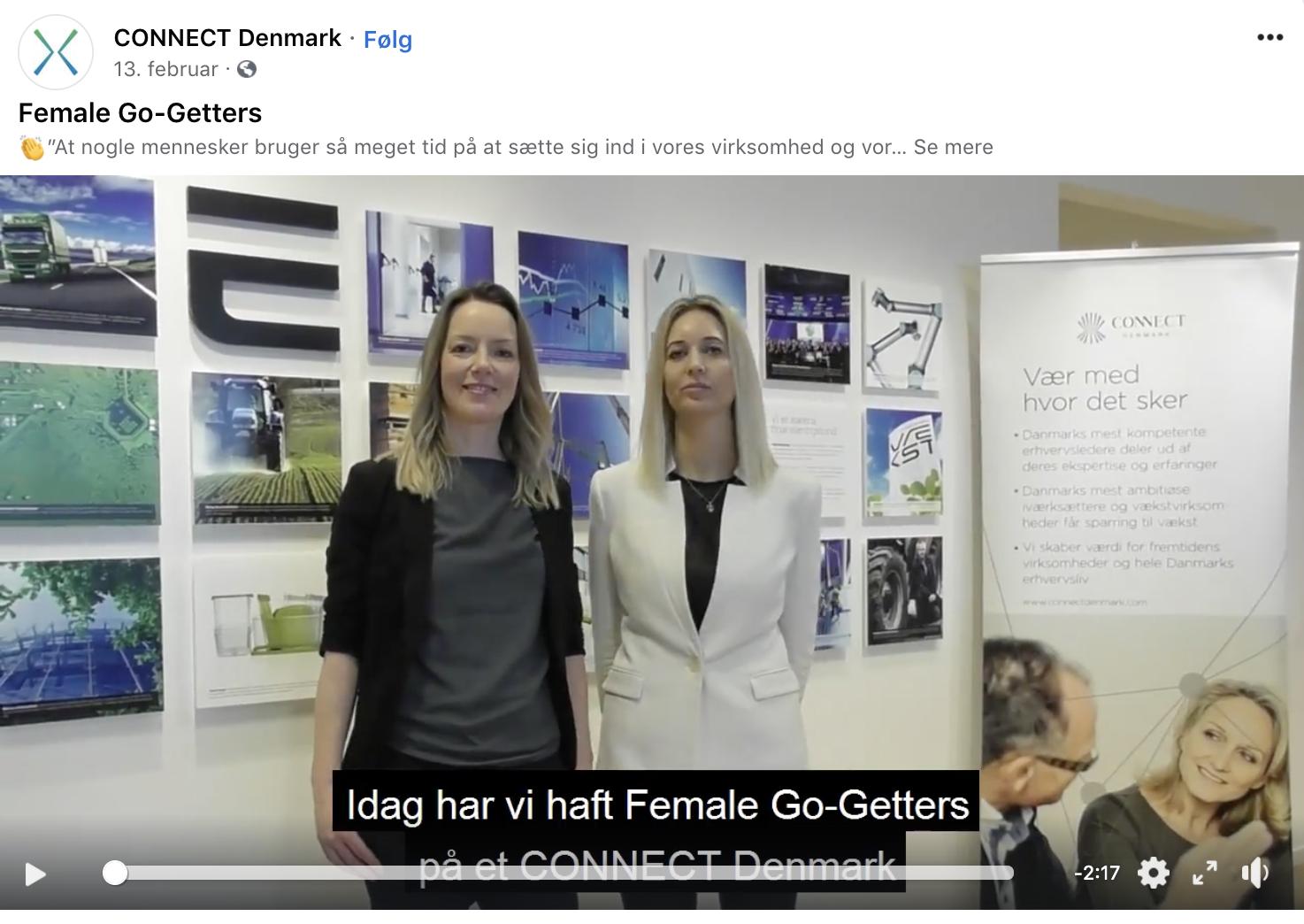 Female Go-Getters netværk for kvindelige iværksættere