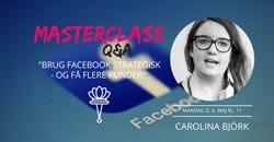Netværksmasterclass Carolina Bjørk