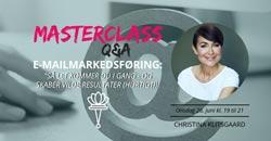 Netværksmasterclass Kristina Klitsgaard