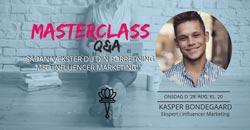 Netværks masterclass Kasper Bondegaard