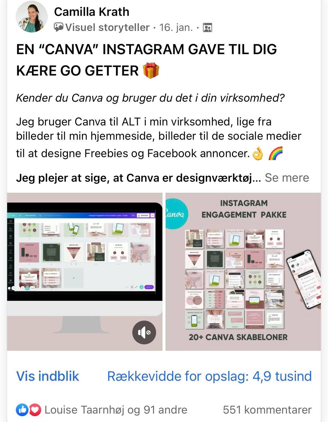 Camilla Krath - Female Go-getter iværksætter